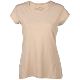 Damen T-Shirt unifarben