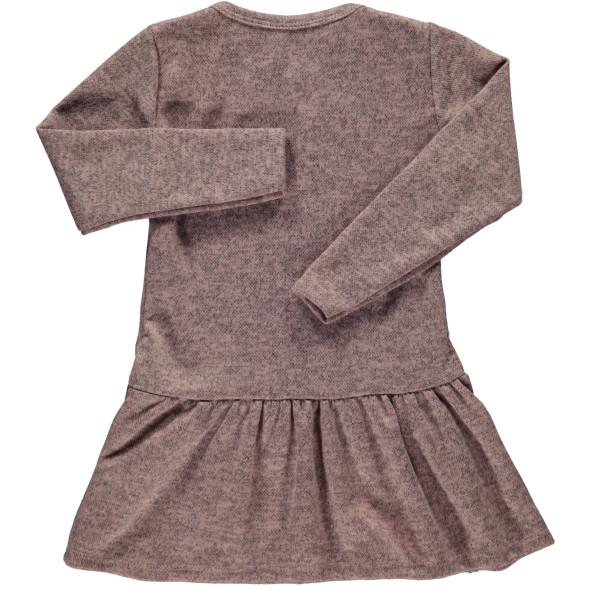 Mädchen Wollkleid mit Wendepaillettenmotiv