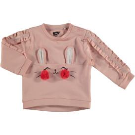 Baby Mädchen Sweatshirt mit vielen Details
