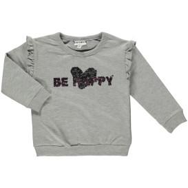 Mädchen Sweatshirt mit Paillettenprint