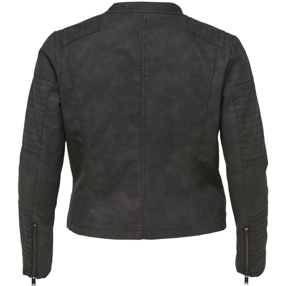 Only Carmakoma CARAVANA FAUX LEATHER Kunstlederjacke