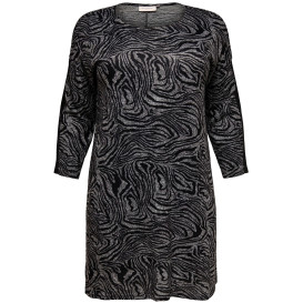 Only Carmakoma CARALBA LS KNEE DRESS Kleid
