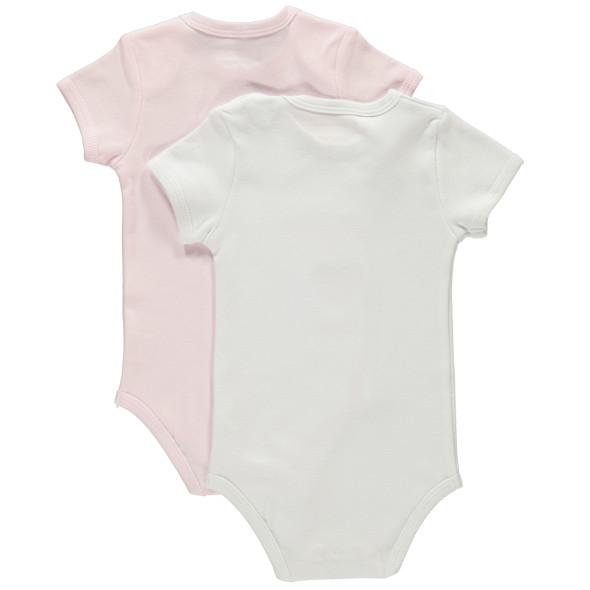 Baby Mädchen Bodies im 2er Pack