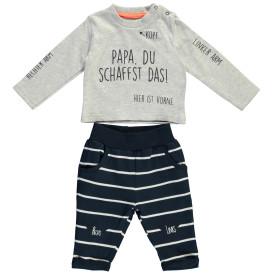 Baby Jungen 2er Set, bestehend aus Longsleeve und Hose