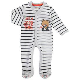Jungen Pyjama mit Stickerei-Applikation