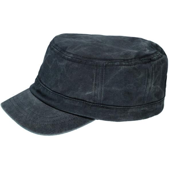 Herren Kubaner Cap im Used Look