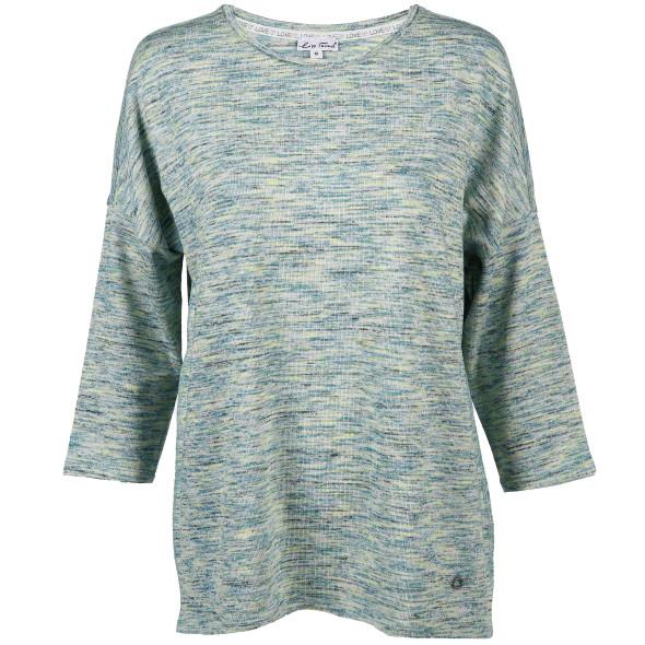 Damen Sweatshirt in melierter Optik