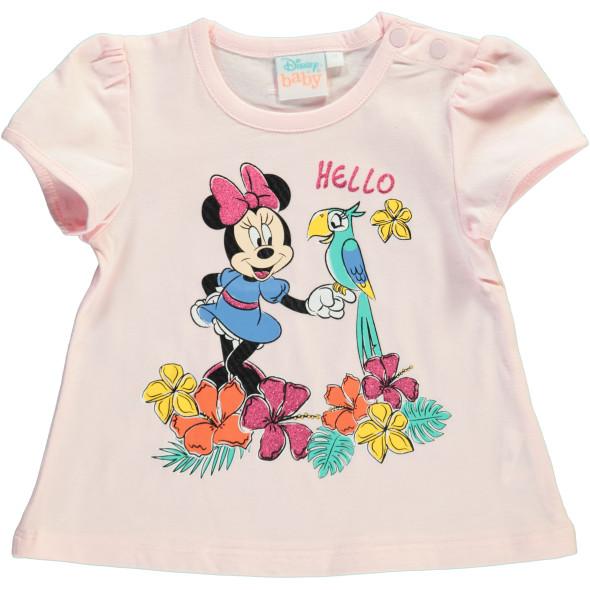 Baby Mädchen Shirt mit Minnie Mouse Print