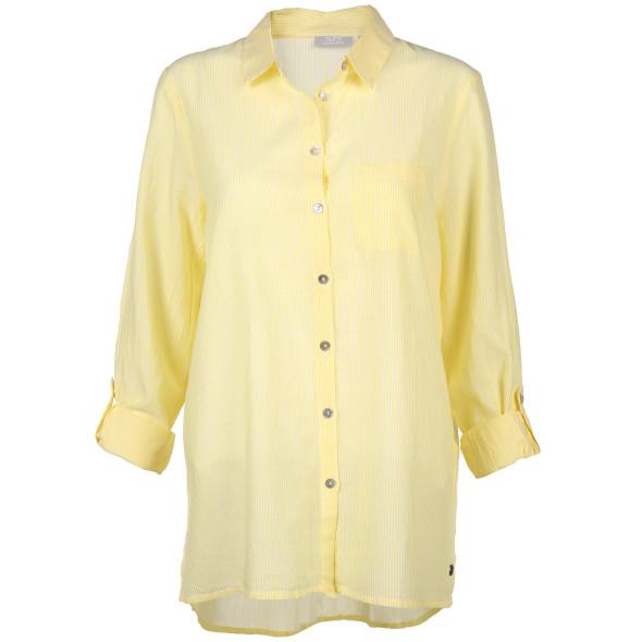 Damen Bluse mit feinen Streifen