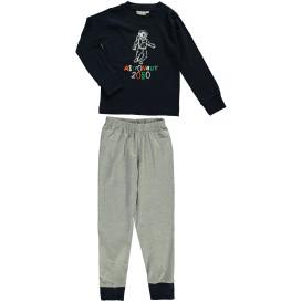 Jungen Schlafanzug mit Astronauten Motiv