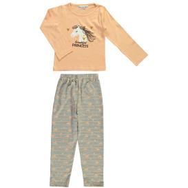 Mädchen Schlafanzug mit Pferdemotiv