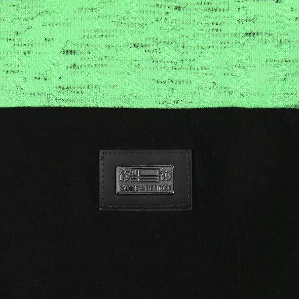 Herren Neonshirt mit Logostreifen