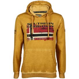 Herren Kapuzensweatshirt mit Print