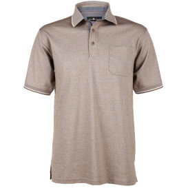 Herren Poloshirt mit Brusttasche