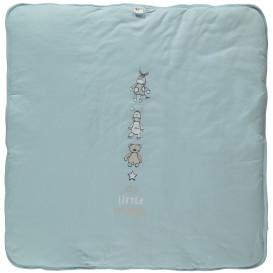 Baby Decke, weich wattiert, 80x80cm
