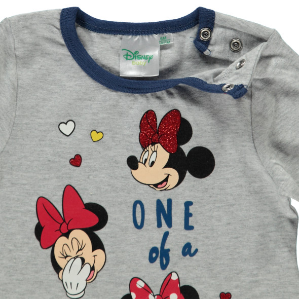 Baby Mädchen Longsleeve mit Mickey Motiv