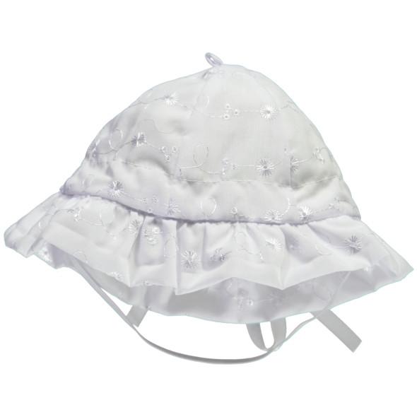 Baby Mütze mit Stickerei