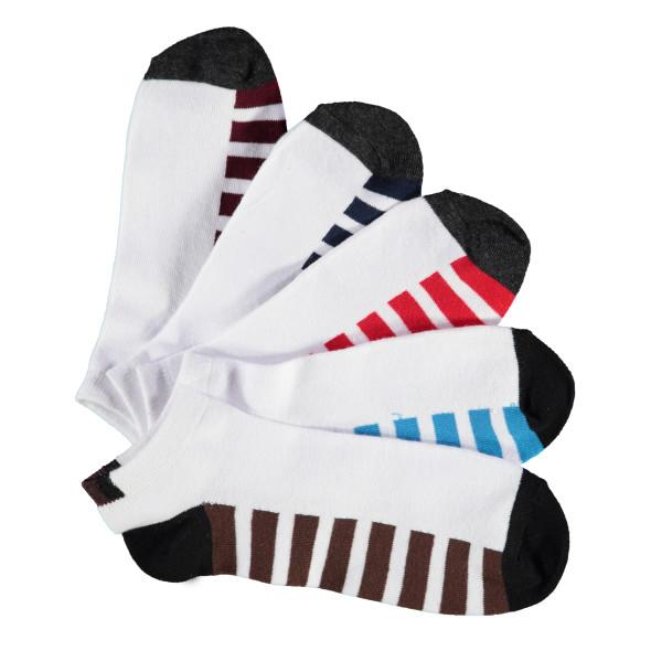 Herren Sneakersocken im 5er Pack