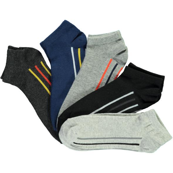 Herren Sneaker Socken im 5er Pack