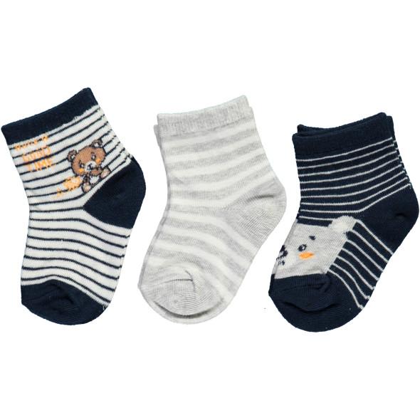 Baby Jungen Socken im 3er Pack