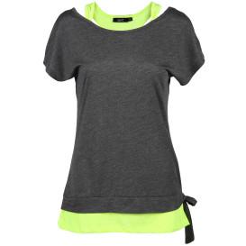 Damen Wellness Shirt 2in1 Optik