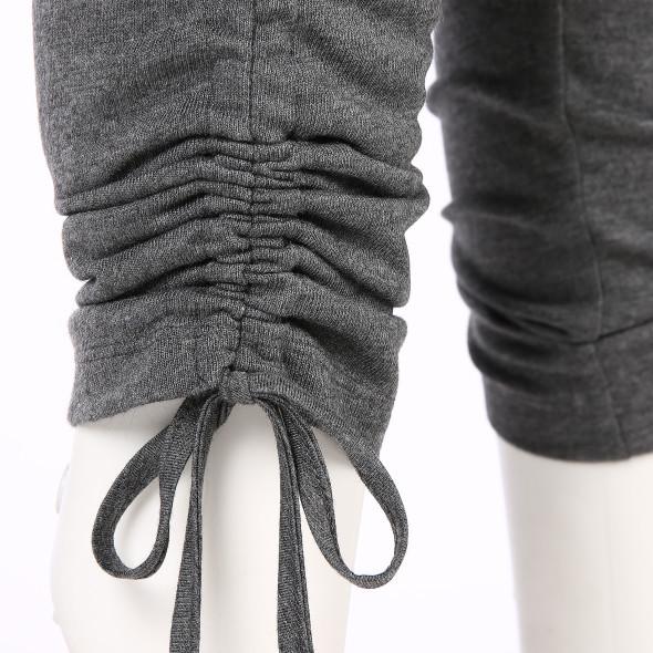 Damen Wellnesshose mit gerafftem Beinabschluss