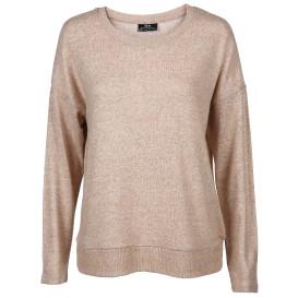 Damen Oversized Pullover in melierter Optik