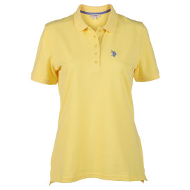 Damen Poloshirt mit Stickerei