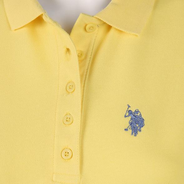 Damen Poloshirt mit Stickerei