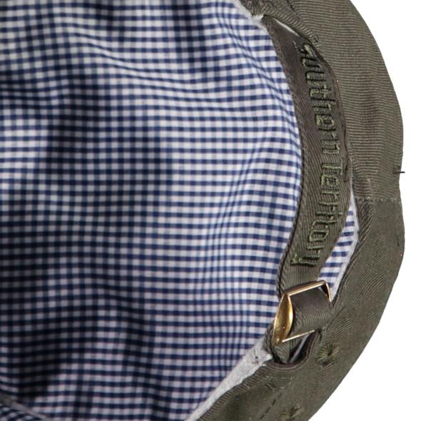 Herren Kubaner Cap mit kleinem Patch