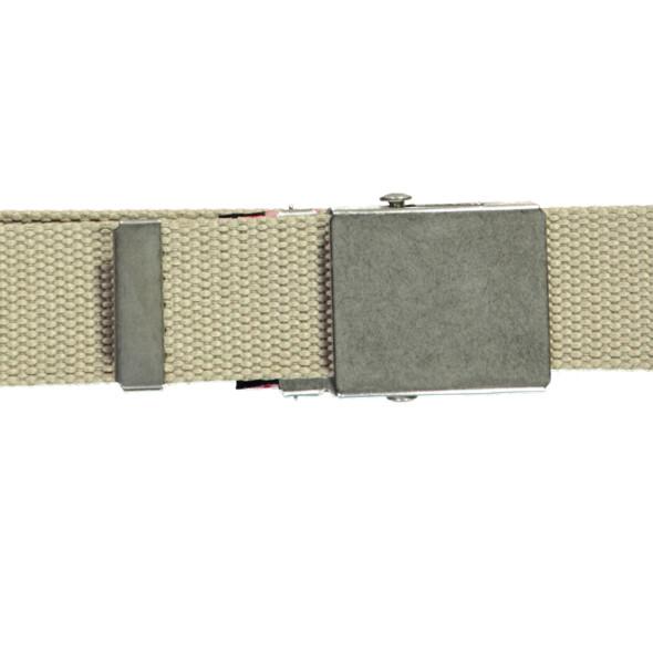 Herren Textilgürtel mit Metallschließe