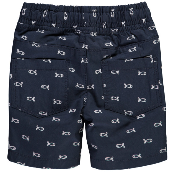 Baby Shorts mit Minimalprint