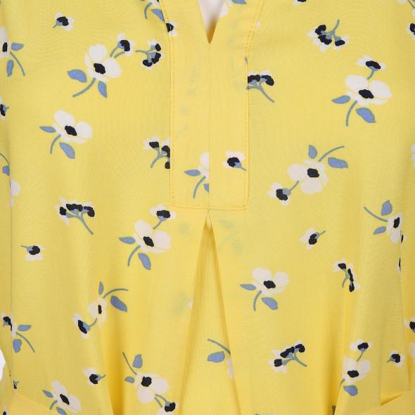 Damen Sommerkleid im Minimalprint