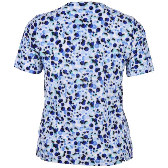 Große Größen Shirt mit Punkten