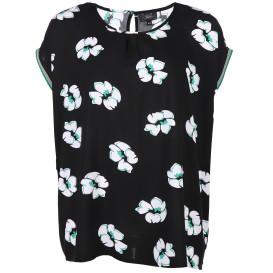 Große Größen Blusenshirt mit Blumenprint
