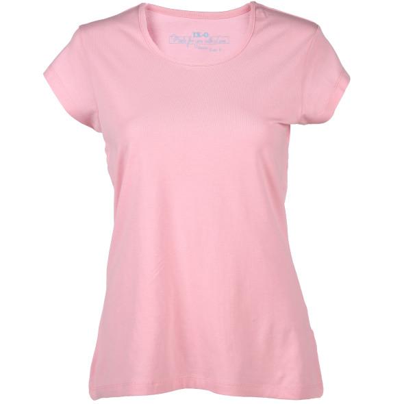 Damen T-Shirt unifarben