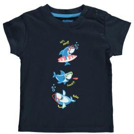 Baby Shirt mit witzigem Fontprint