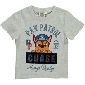 Jungen Shirt mit Print und Motiv aus Wendepailletten