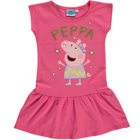 Mädchen Kleid mit Peppa Pig Motiv