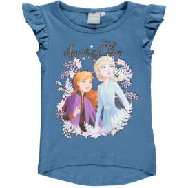 """Mädchen Shirt mit Glitzerprint """"Frozen"""""""