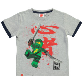 Jungen Shirt mit Ninja Frontprint