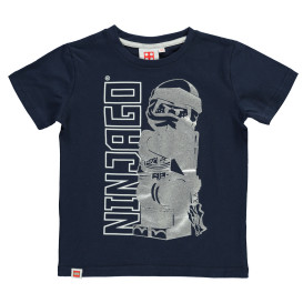 Jungen Shirt mit Ninja Glitzerprint