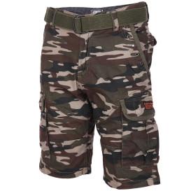 Herren Cargo Shorts in Camouflage Optik