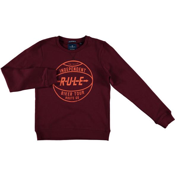 Jungen Sweatshirt mit Frontdruck