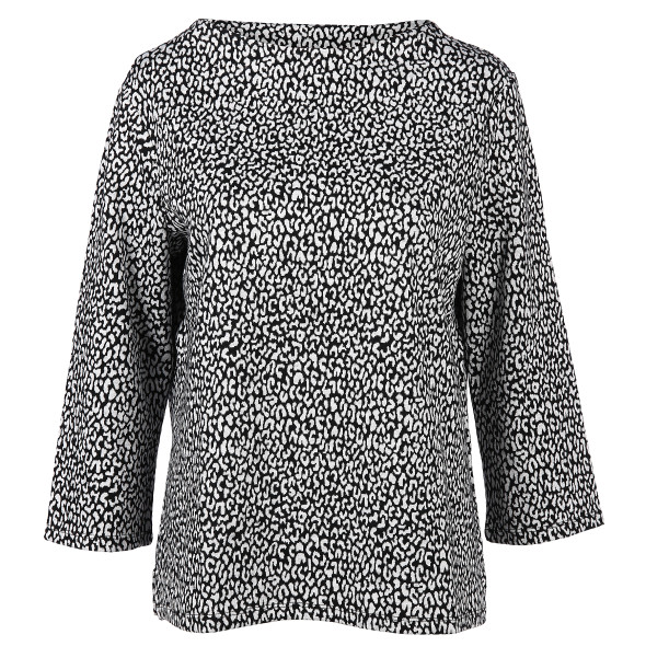Damen Sweatshirt mit Alloverprint