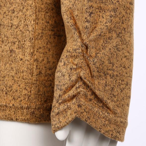 Damen Strickpullover mit Stehbund-Kragen