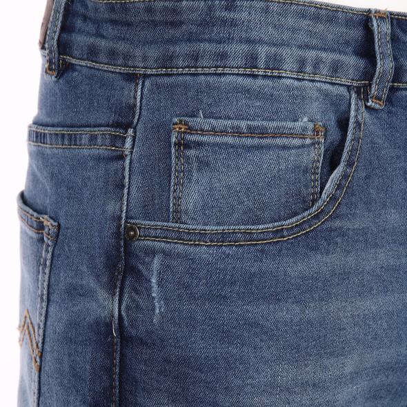 Herren Jeans Bermuda Marc mit Used Effekten