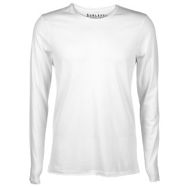 Herren Basic-Shirt mit offenen Kanten