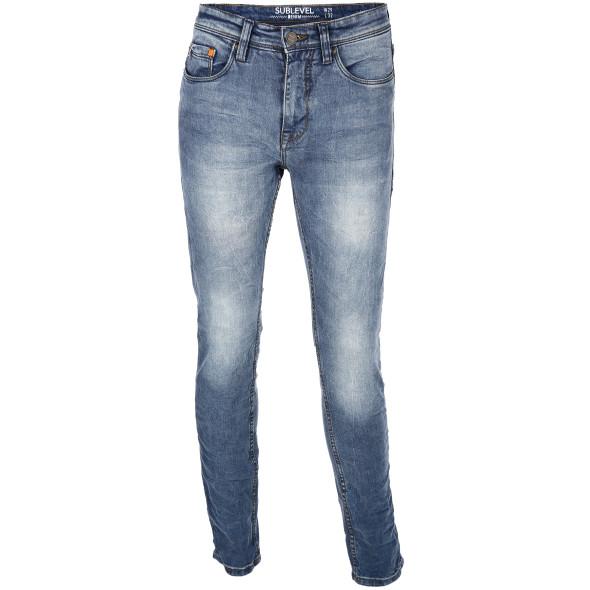 Herren Jeans im Crash Look