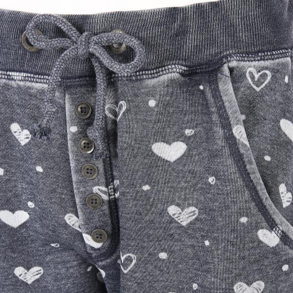Damen Jogginghose mit Herzprint